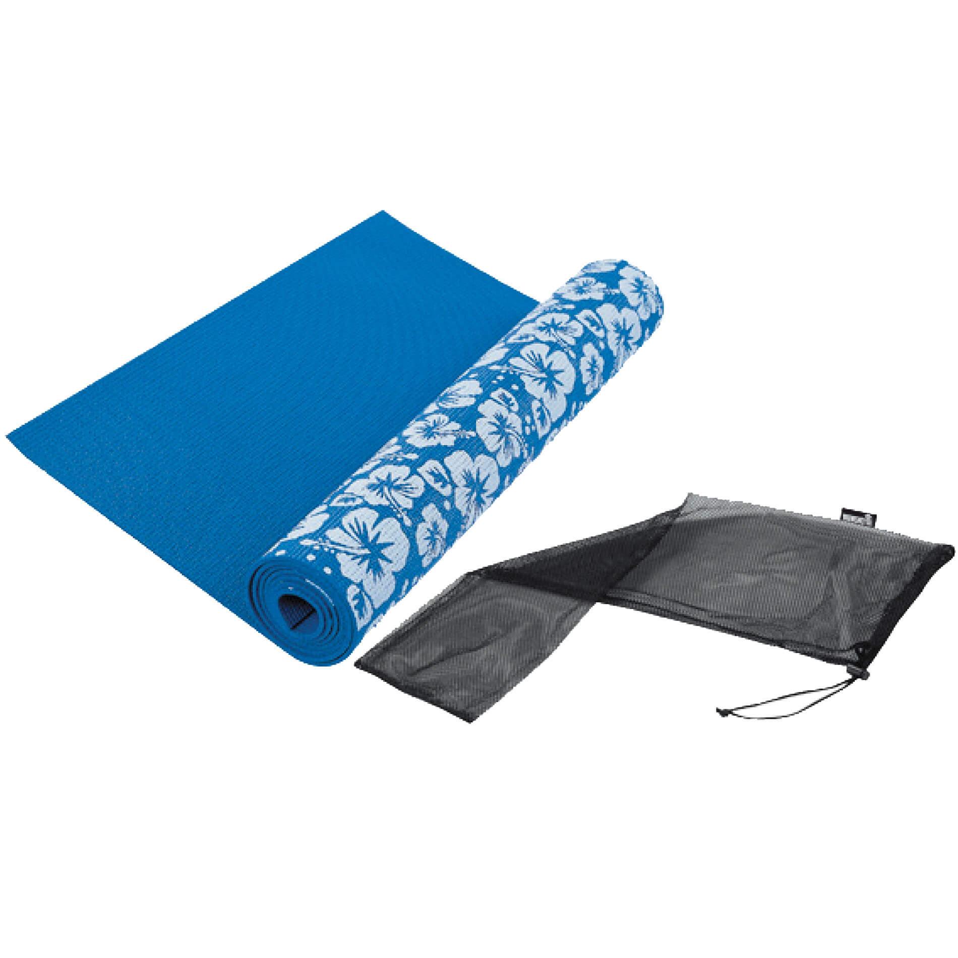 Tunturi-Bremshey Yoga Mat Print Blauw Stuk