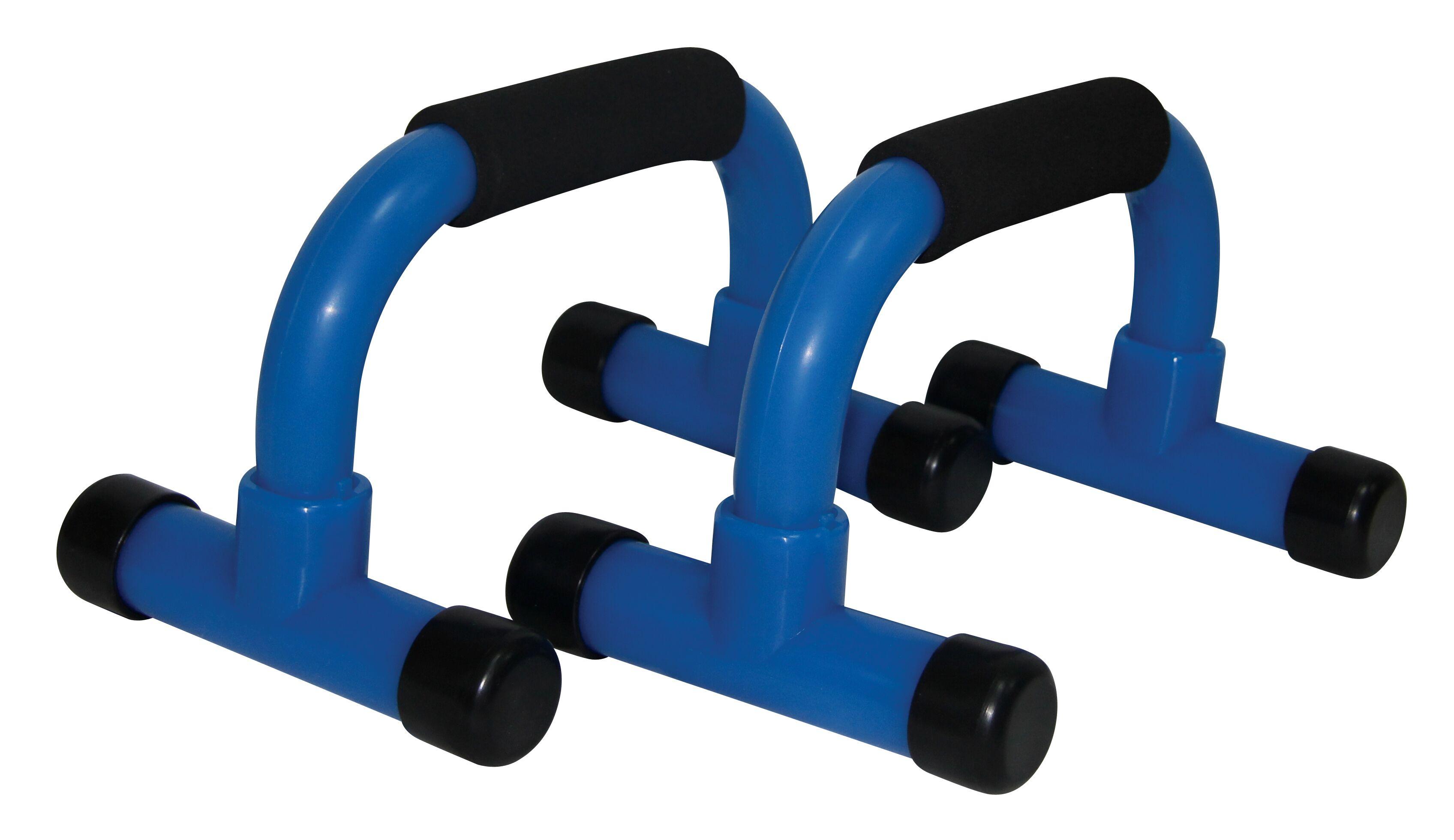 Tunturi-Bremshey Push-up Bar Black-blue Set