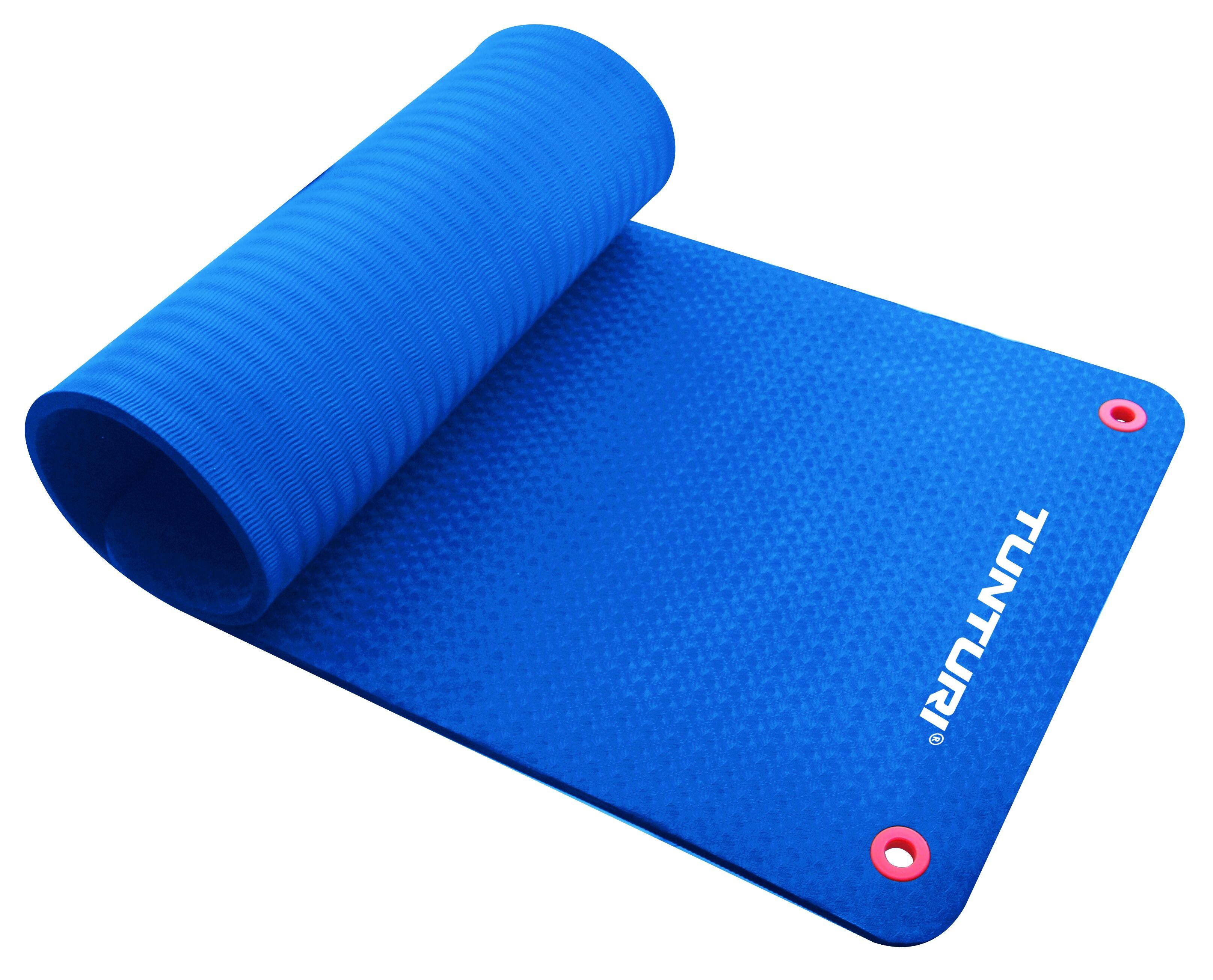 Tunturi-Bremshey Fitnessmat Pro 140cm Blauw Stuk