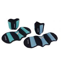 Tunturi Gewichtsmanchetten l neopreen l 0.75 kg l groen zwart