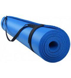 Fitnessmat / trainingsmat NBR Easy RS Sports l blauw l 180 x 60 x 1,0 cm