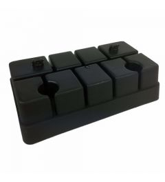 Tunturi Foot Blocks voor Aero Step