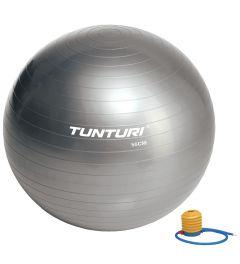Tunturi gymball l fitnessbal incl pomp l 65 t/m 90 cm l zilver