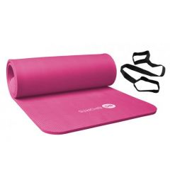 Fitnessmat / trainingsmat NBR RS Sports l roze l 180 x 60 x 1,5 cm