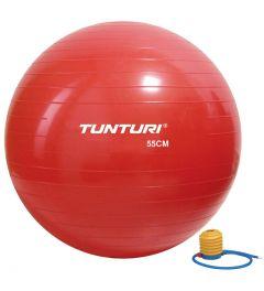 Tunturi gymbal l fitnessbal incl pomp l 65 t/m 90 cm l rood