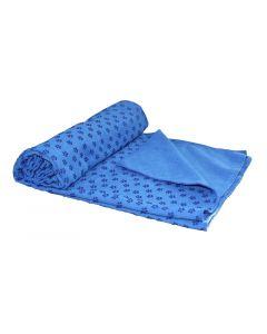 Tunturi Yoga handdoek l blauw l 180 x 63 cm