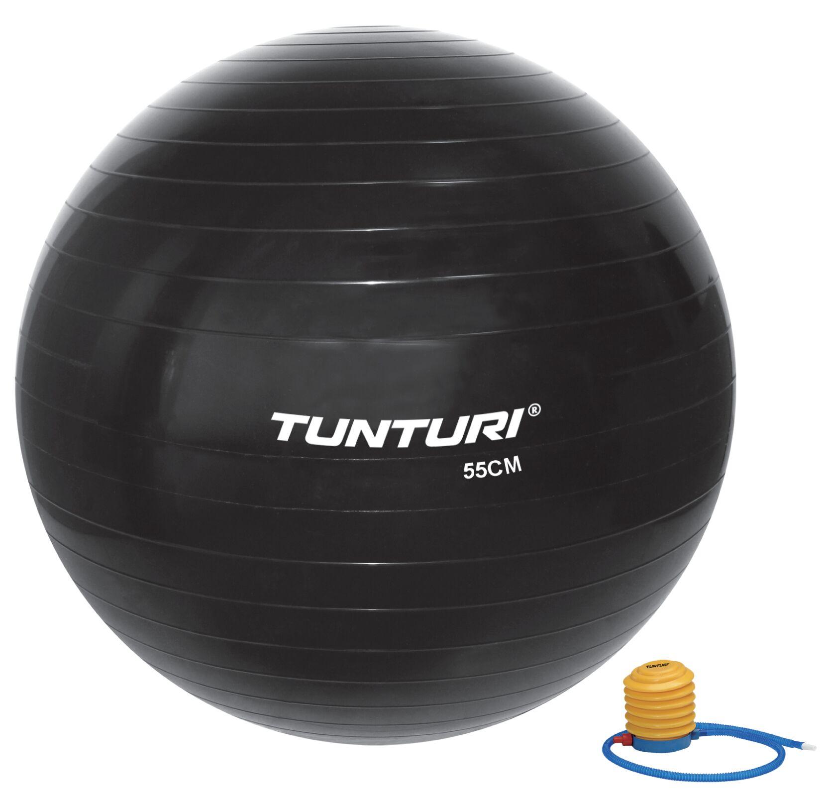 Tunturi Gymball 75cm Zwart
