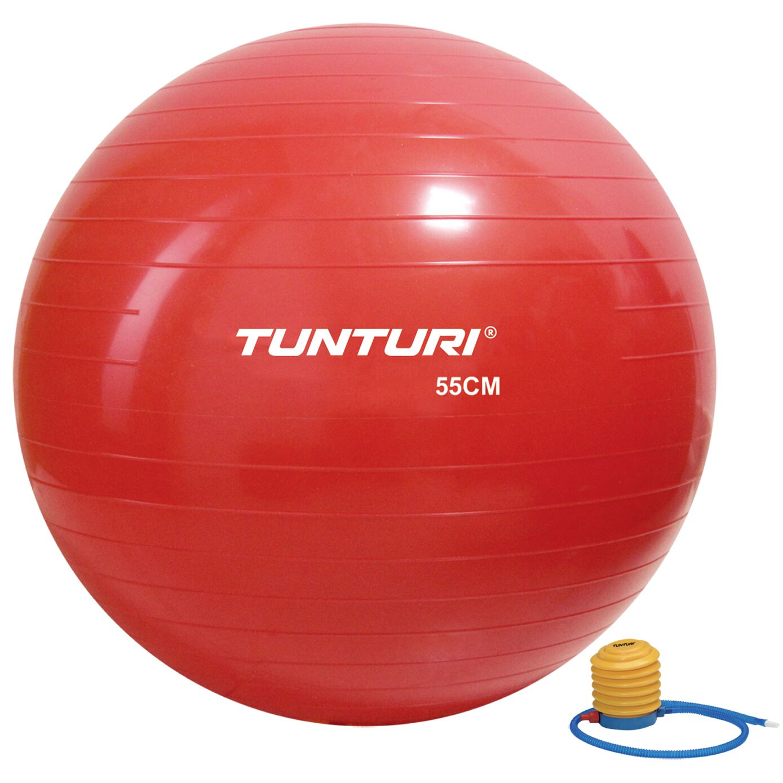 Tunturi Gymball 90cm Rood